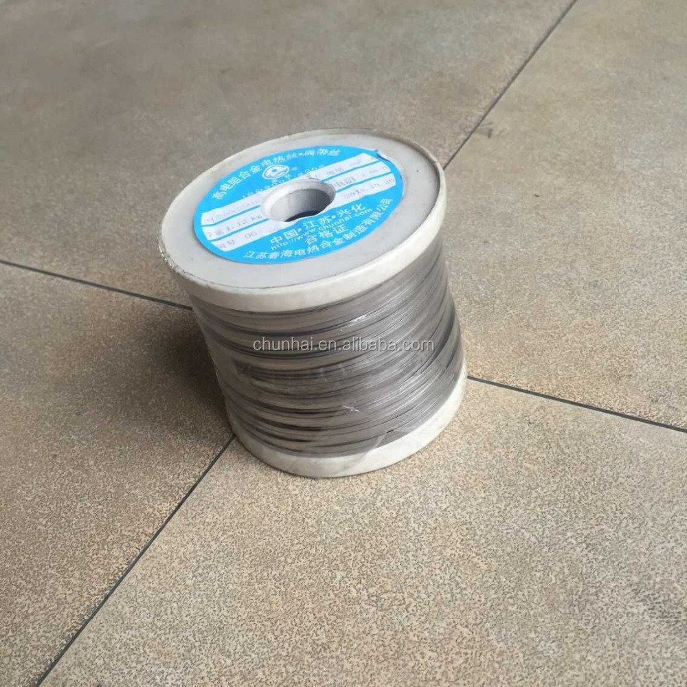 High resistant alchrome OCr21Al4 fecral ribbon wire