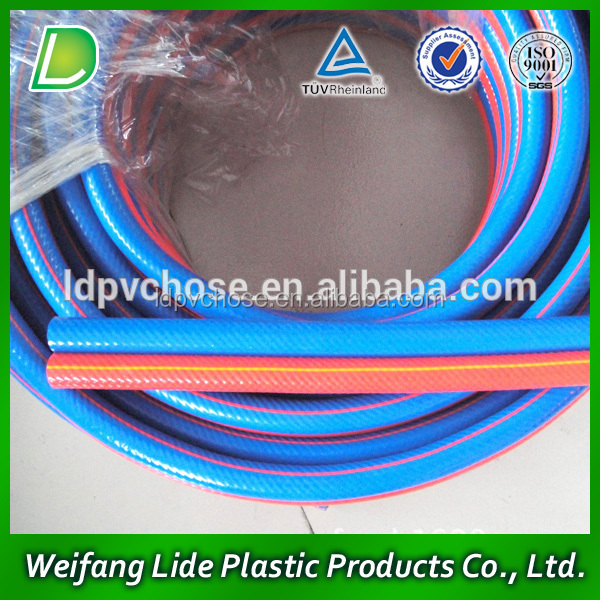 High Quality Collapsible PVC Twin Welding Air Hose oxygen acetylene hose