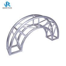 Heavy Duty Aluminum Curve Truss Arched Bolt Truss,Aluminum Curved Roof Truss For Events