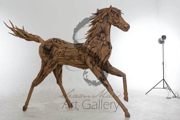 Bois flott cheval artisanat en bois id de produit for Fournisseur bois flotte