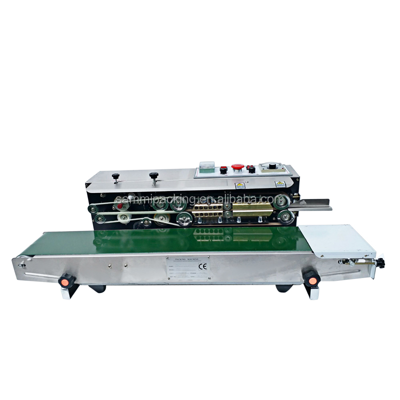 Multifunction FRD 1000 Continuous Band Sealer with Solid Ink Printing