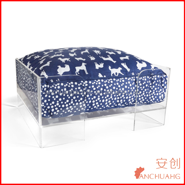 Large Modern Acrylic Pet Bed Dog&Cat Beds