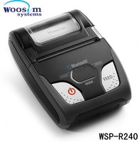 Woosim mini potable wireless wifi printer WSP-R240 made in Korea