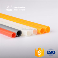 Stable quality plastic pipes for hot and cold water