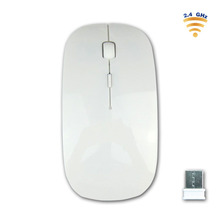 2017 ultra thin wireless mouse optical ergonomic mouse for computer