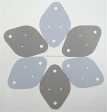 Die Cutting Thermal Conductive Silicone Rubber Insulation pads For LED Lighting