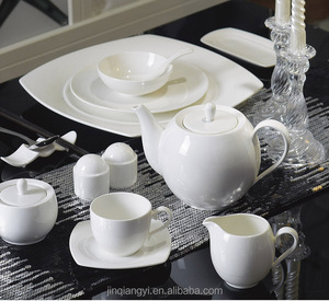 LT series china tableware sets white ceramic porcelain plates factory chaozhou ceramic