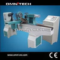 high precision cnc wood lathe machine for sale promotion price