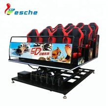 Factory price high quality 5d 7d cinema theater movie equipment 7d cinema simulator