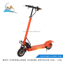 Angel girl kids 300w diy senior electric mobility scooter with 8 Inche PU Wheels pedals
