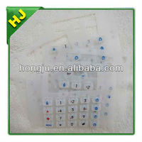 Security parts silicon keypad