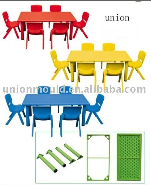 plastic table & chair mold