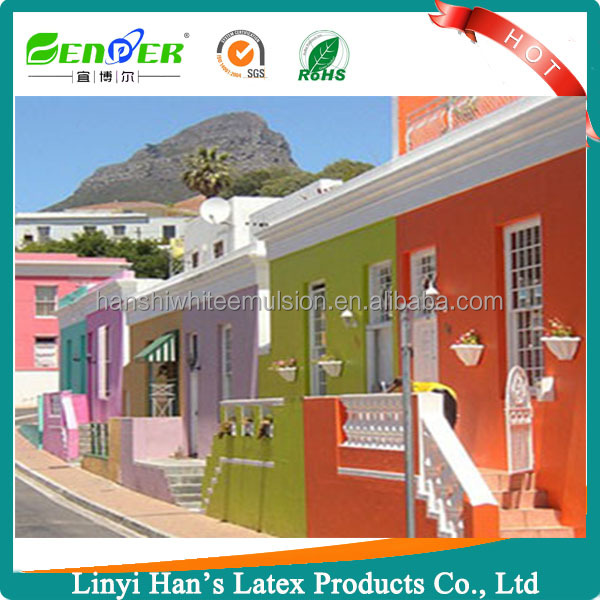 Han's Best stain emulsion water-based coating paint for exterior wall
