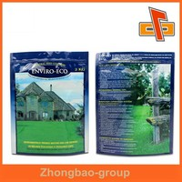 Guangzhou manufacturer food grade stand up ziplock plastic bags for food
