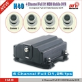 4ch 4TB HDD DVR 1080p full D1 vehicle recorder cctv,gps tracking system,H40