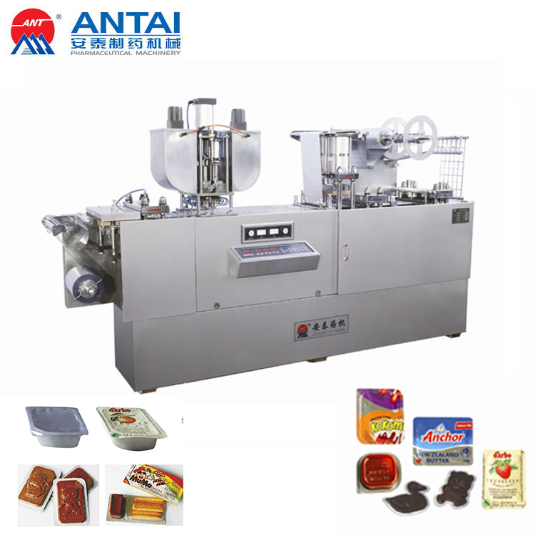 CE ISO ANTAI DPB-350 2000kg Chocolate Melting Automatic Blister Packaging Machine