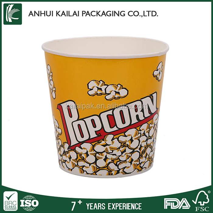 Different type Popcorn Boxes,Custom Popcorn Boxes size