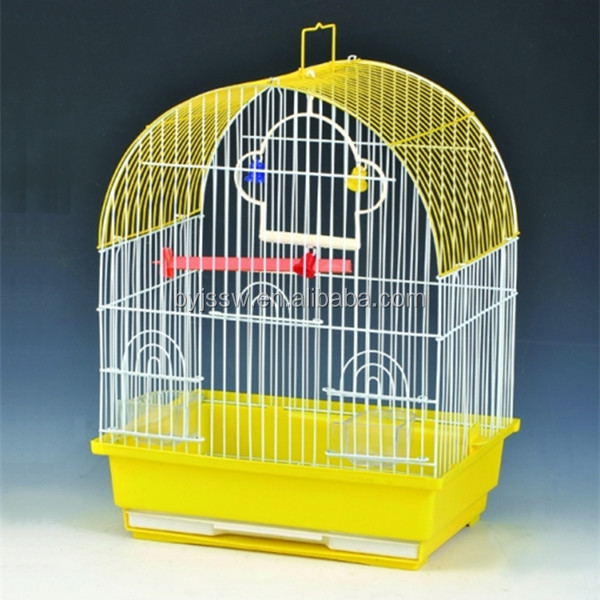 Baiyi Best Selling Bird Trap Cage /Bamboo Bird cage