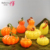 Halloween Ornament Wholesale Blown Glass Vases Yellow And Orange Pumpkin Decorative Modern Vases