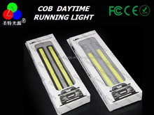 Straight shape 17cm car cob led drl Waterproof daytime running light with 1 year warranty