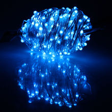 Most popular outdoor low energy solar consume CE RohS certified firefly solar powered christmas led string light