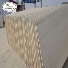 Paulownia Wood Log Chips Solid Wall Thickness Panel