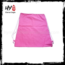 New fashional nonwoven drawstring travel bag with low price
