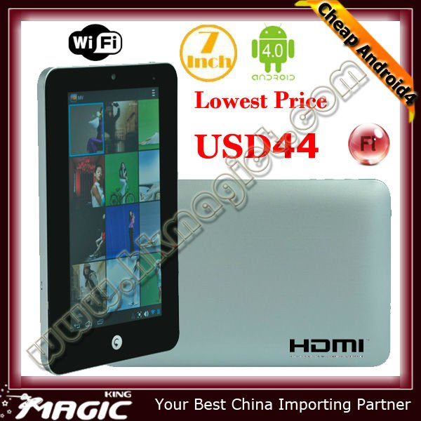 Cheapest 7 inch tablet cover android 4