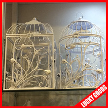 new design luxury white wedding decorative bird cage for sale