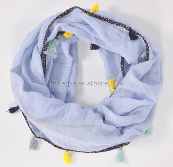 2016 Lady's causal floral scarf in small style