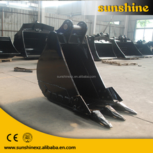 low price high quality of excavator rock bucket for 12T excavator