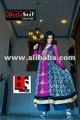 designer dress india pakistan chiffon middle work