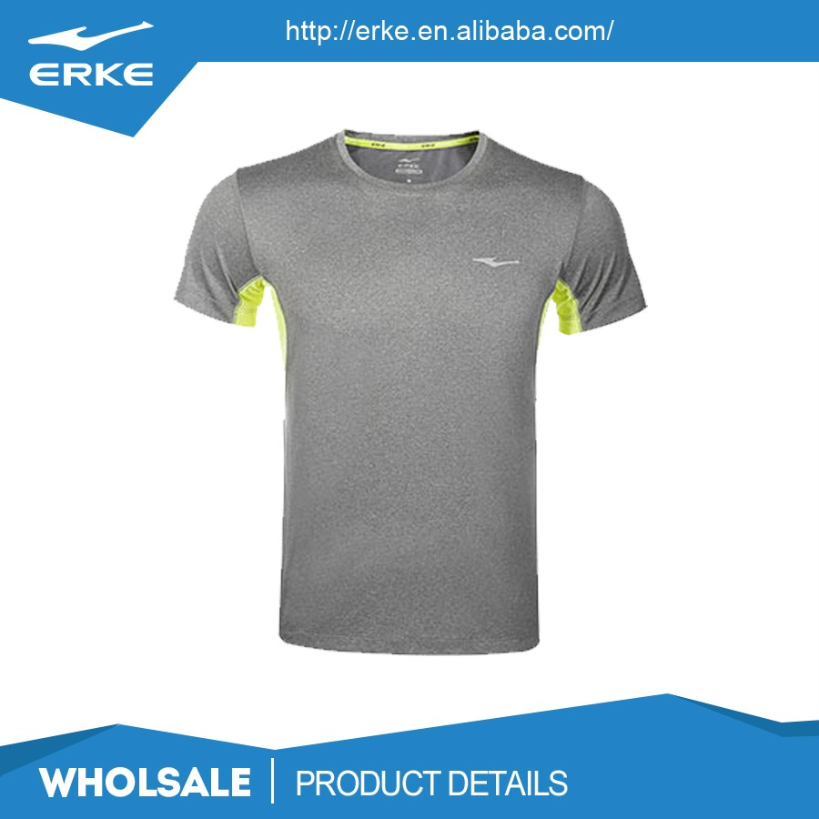 Erke wholesale couple style round neck bright color blank for Neon colored t shirts wholesale