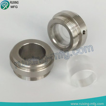 custom machining stainless steel end cap threaded end cap