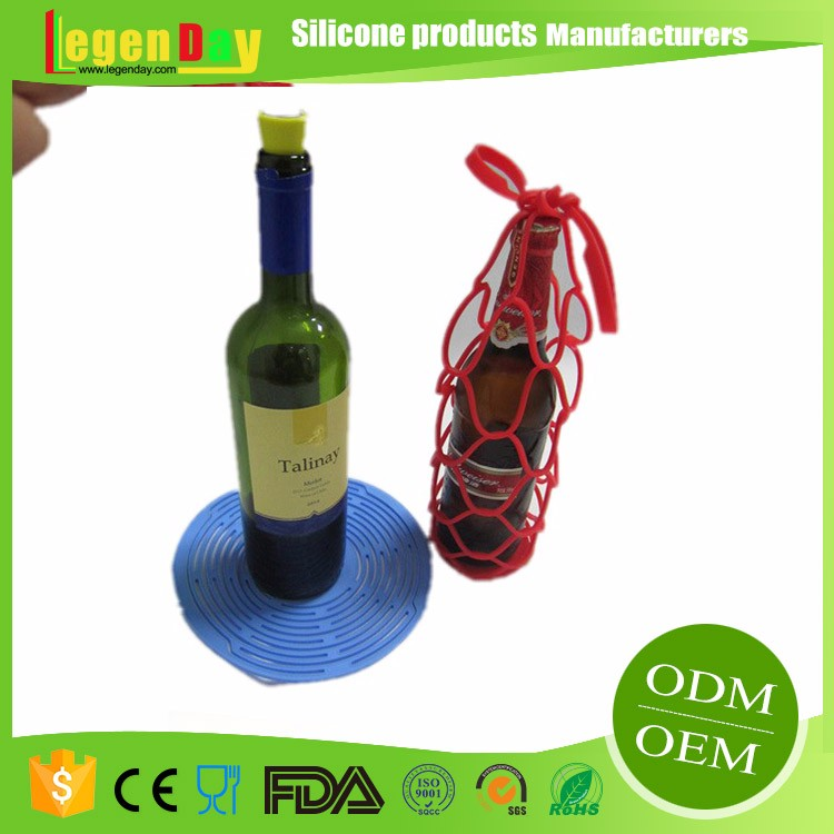Silicone Beer Bottle Holder For Wine