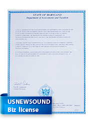 Business License-USNewSound