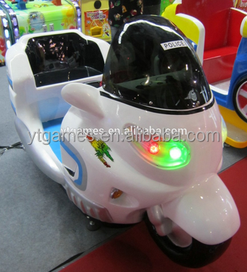 2015 Funny police car coin operated kiddie ride FOR KIDS