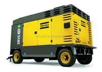 Chinese Atlas Copco XRHS836 Cd 784cfm 20 bar portable diesel air compressor