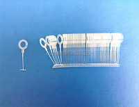 PP & Nylon material clear hook pin with size 15/ 25/ 35mm