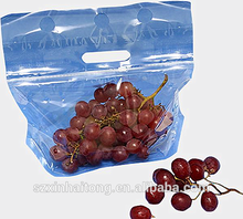 Wholesale transparent cherry fruit opp packaging bag