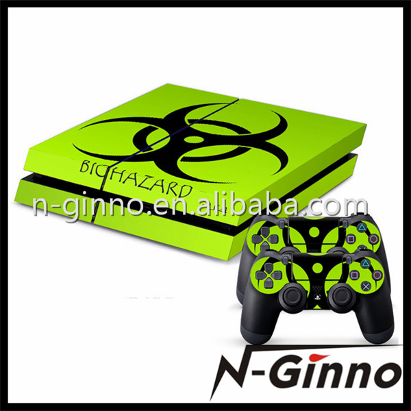 For sony playStation 4 vinyl decal skin sticker for ps4 console & controller