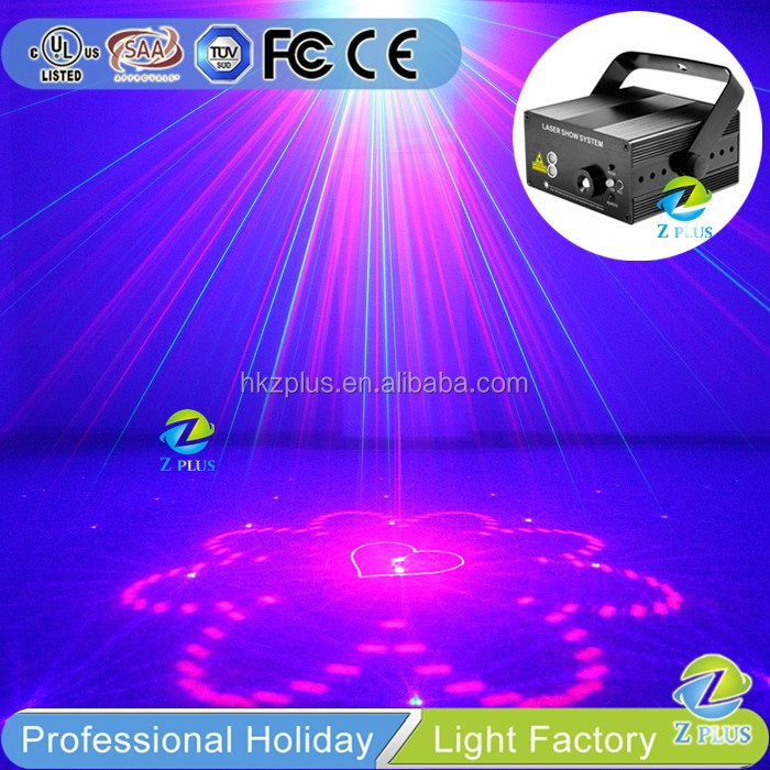 Clear Custom Logo laser light advertising