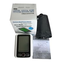 oem factory manufacuter upper arm type blood pressure meter with back light