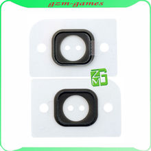 Home Button Holder Rubber Gasket Sticker Replacement Part for iPhone 5 5G