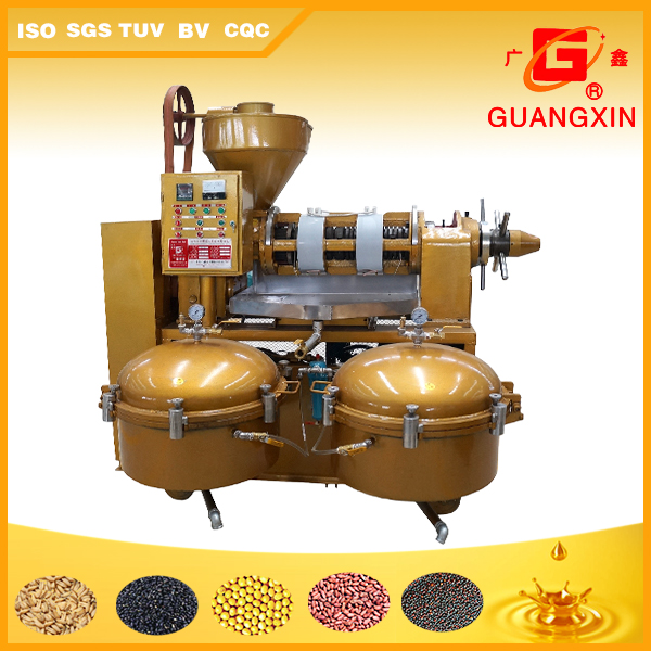 YZLXQ120 Combined palm kernel oil expeller with filter