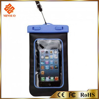 Shenzhen factory waterproof mobile phone case for all size