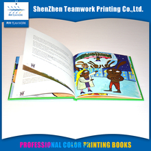hard cover childrens book cardboard printing