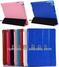 Ultra Slim PU Leather Case Magnetic Smart Cover for iPad 2 3 4 with Crazy Horse Lines