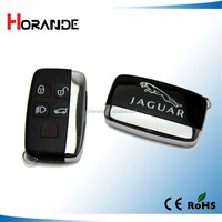 good quality car remote key case for Jaguar 5 button smart remote key shell