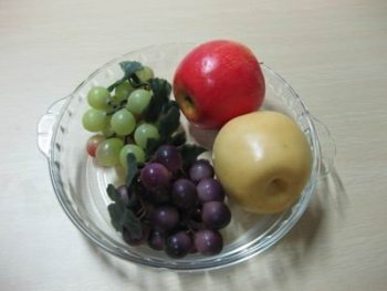 glass fruit dish,glass compote,glass fruit bowl